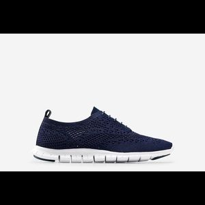 Cole Haan sneaker size 8.5 for black and 8 navy